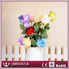 Wholesale Artificial Silk Rose Flowers On Stem