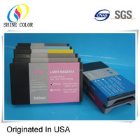 bulk large format compatible ink cartridge for Epson stylus pro 7800, 220ml pigment ink, China manufacturers