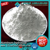 99.5% min Aluminum hydroxide/aluminum Tri Hydrate/Hydrate Alumina uses for makes an excellent fire retardant
