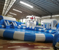 Factory Supply Customized Water Splash Park Funny Outdoor Snow World Inflatable Water Park