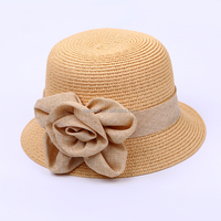 Yiwu Character Style And Straw Hat Type Bucket Hats
