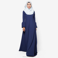 Latest Design Soft Feeling Muslimah Jubah for women A012