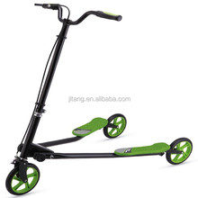 EN17/CE SGS Approved 3 wheels drift scooter/drifting adult scooter for extreme driving/swing caster scooter for drifting JT-LO2