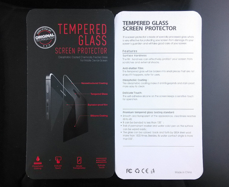 9H+ Tempered Glass Screen Protector For Samsung Galaxy S3 S4 S5 Mini S6 S7
