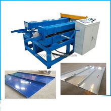 Arch Style Building Metal Cold Roof Roll Forming Machine standing seam roofing machine portabled standing seam roofing machine