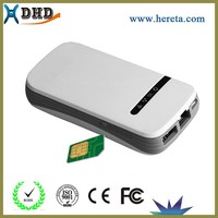 New power charger lithium polymer battery mobile phone battery wifi power bank sim card