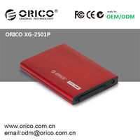 ORICO XG-2501P aluminum HDD protective case for 2.5'' SATA HDD