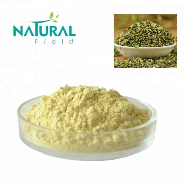 100% Pure Natural  Sophora japonica L. Extract 98% Apigenin powder