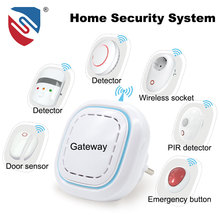 868MHz/433MHz OEM Approved Wireless Home Security Alarm System