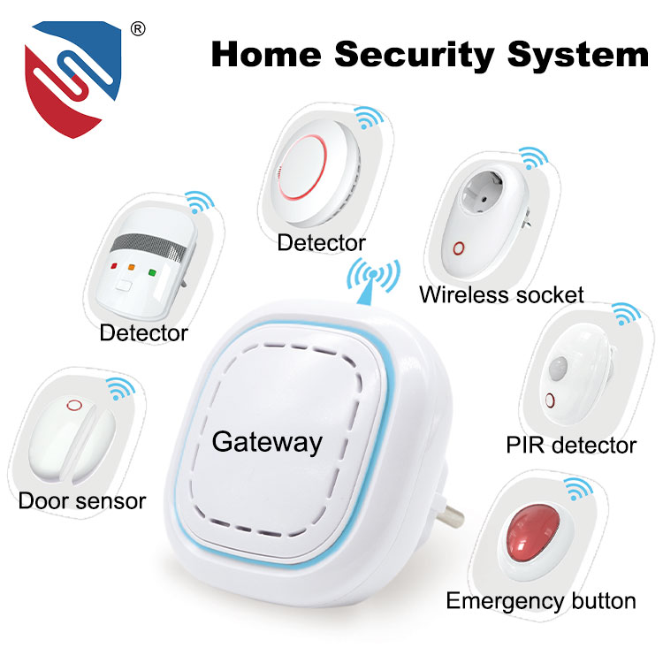 OEM Approved Wireless Home Security Alarm System