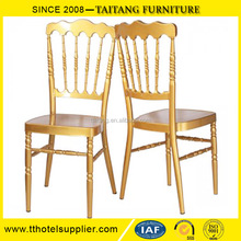 Furniture Wedding Type General Use Gold Napoleon Chair