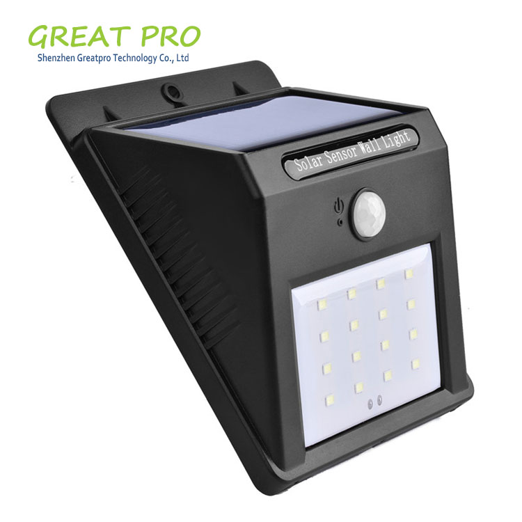 8 16 20 LED Outdoor Wireless Solar Energy Powered Motion Sensor Wall Lights Waterproof for Patio, Deck, Yard, Garden, Driveway