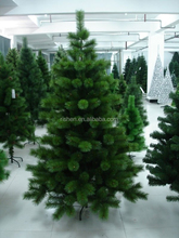new design pine needle xmas tree popular rattan cone christmas tree made in china
