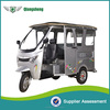 China Top 10 electric tricycle three wheeler tuk tuk bajaj in india