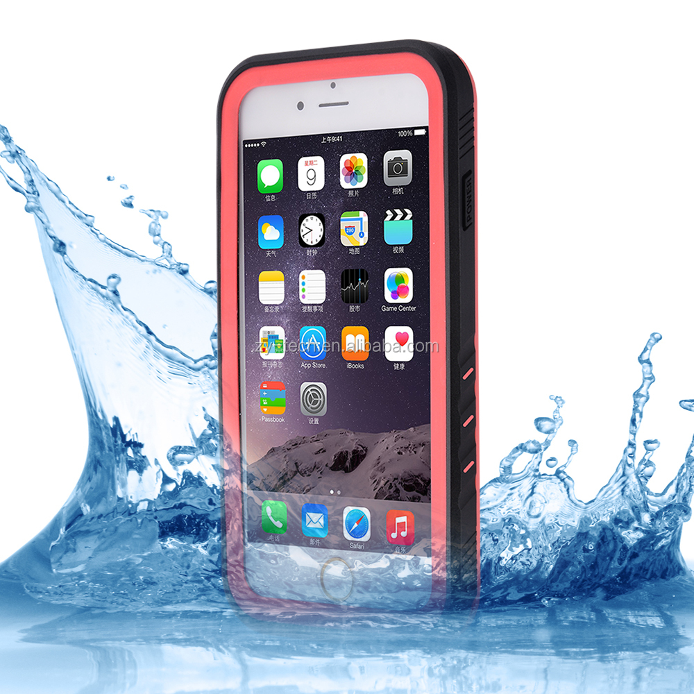 IP68 TPU Cell phone Shockproof Smartphone Waterproof Phone Case for iphone 7 case waterproof