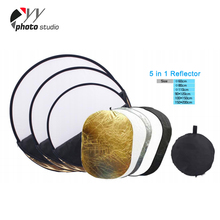 "32"" 5-in-1 Photography collapsible photo shoot equipment reflector"
