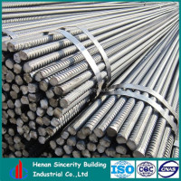 China low price 16mm deformed steel bar/iron rods for construction concrete for building metal with low price