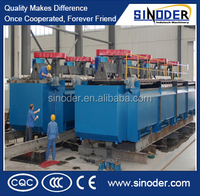300TPD~20,000 TPD Copper, gold, Lead zinc, silver, Florite,iron ore etc ore enrichment equipment with successful projects