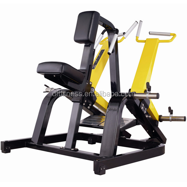 Gym Equipment Exercise Machine Plate Loaded Fitness Equipment Row
