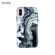 IMD Black Marble Foil Gold Printing Anti-Scratch Silicone Slim Fit Soft Flexible Gel TPU Mobile Phone Case For Apple iPhone X