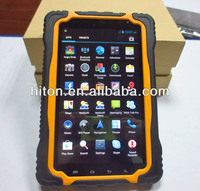 cheapest 7 inch waterproof dustproof falling-proof IP67 tablet with 3G MTK6577 dual core