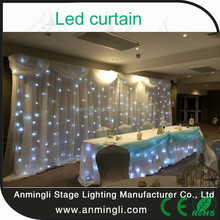 led star cloth curtain wall for backdrop
