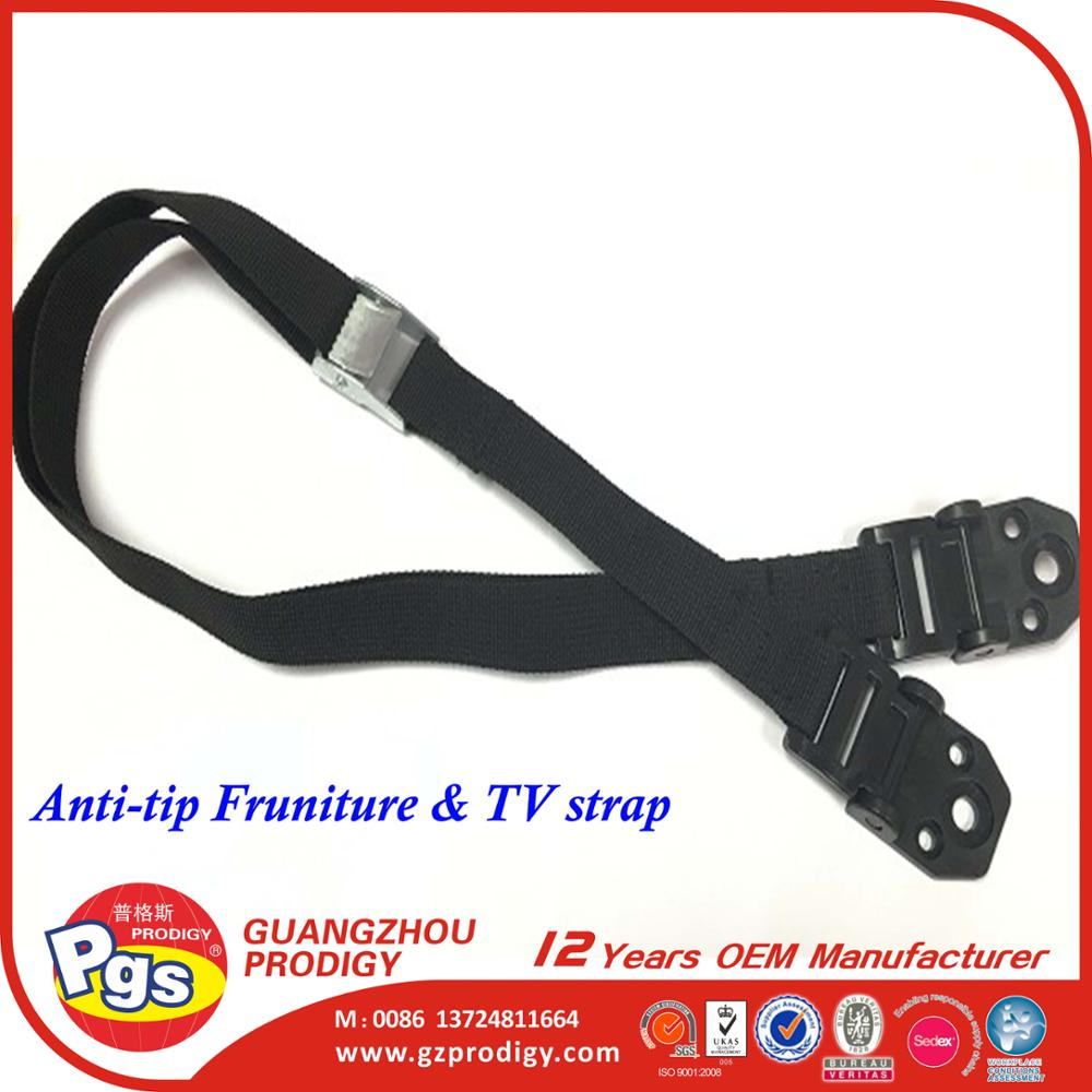 Baby Home Safety Furniture Wall Belt/Plastic anti-tip tv strap safety anti tip tv strap