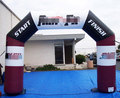 Ningbang inflatable entrance arch gate inflatable finish line arch for sale