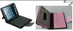 Wireless Bluetooth Keyboard Case for New iPad Mini, iPad