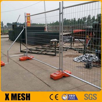 Round top Temporary Fence for UK market