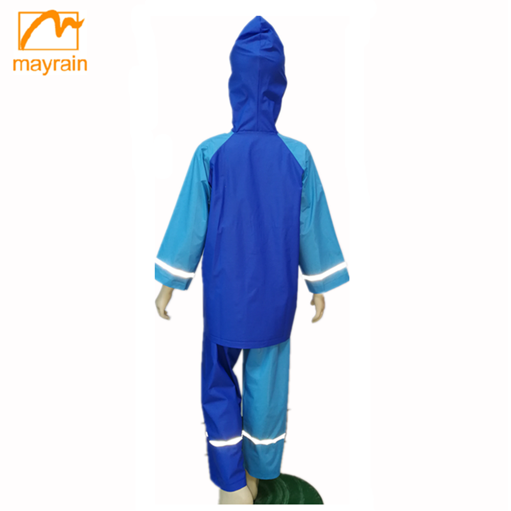 100% Pvc Hot Sales Child Clothing Set,Kids suit