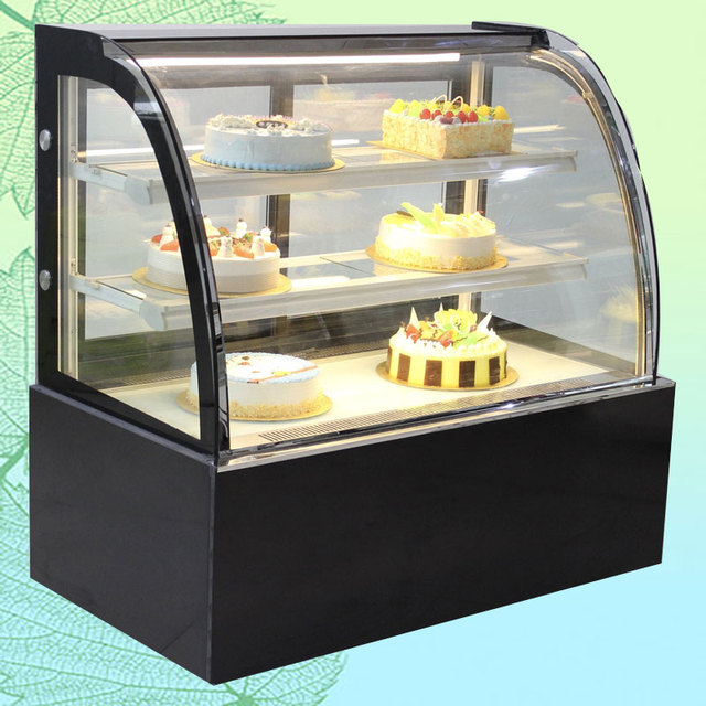 Rectangle Cake Showcase Cooler Chiller Competitive Prices