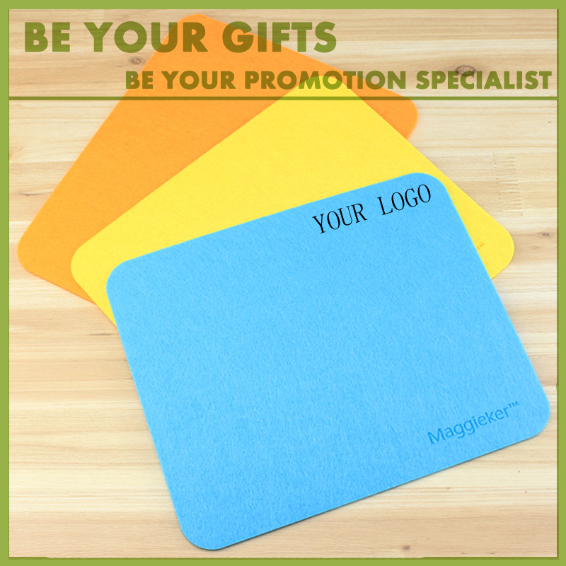 Customize logo promotional Felt cloth mouse pad
