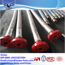 oil drilling mud suction and discharge hose for slurry