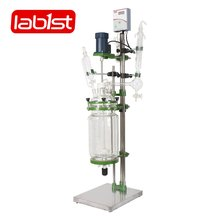 chemical 5l jacket glass reactor with good price