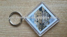 2015 High definition lenticular acrylic keyring