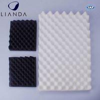 Keep voice in studio soundproof foam,acoustic foam for soundproofing,white melamine studio acoustic foam