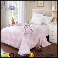 Luxury Silk Quilts/Cotton Fabric Cover/ Silk Comforters