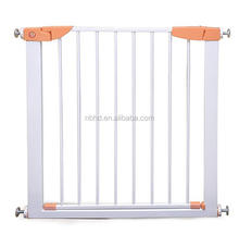 CE Certification Metal Safety Door Adjustable Baby Gate Child Safety Gate For Stairs And Doorways