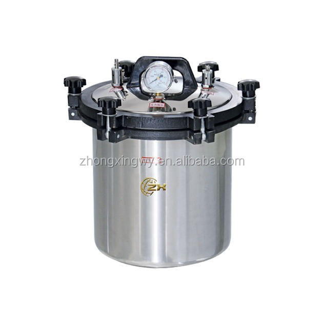 18L lab handhold autoclave for sterilizing culture medium