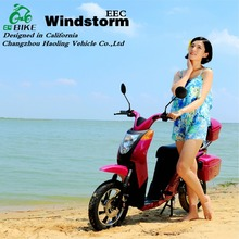 Windstorm 48v cheap 2 wheel electric standing scooter enclosed