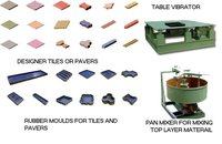 Designer Tile And Paver Making Machines