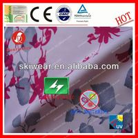 Anti Bacterial 100% Polyester placement print fabric For Outdoor Garment