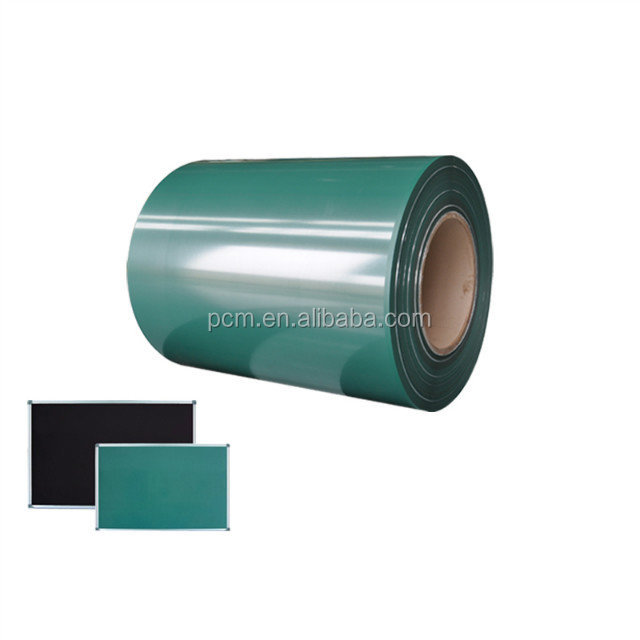 Chalk writing prepainted zinc green board steel sheet coil for school
