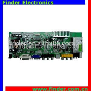 A/D control Board ,lcd tv board support dual/single LVDS LCD panel