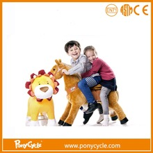 PonyCycle pedal cars for kids toddler riding toys suffed toy on wheel