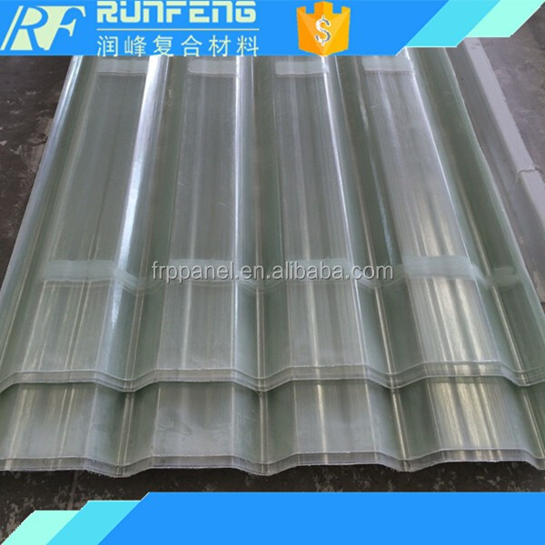 Daylight decorative fiberglass roofing panels with best selling