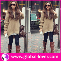 Top selling lady woolen sweater designs for ladies