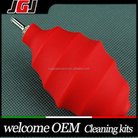 Custom DSLR Camera Cleaning Accessories Lens Air Blower Dust Blower for Sony Canon Nikon Computer Laptop PC Screen (RED)