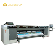New arrival industrial printhead G5 3-5 pcs uv roll to roll printing machine